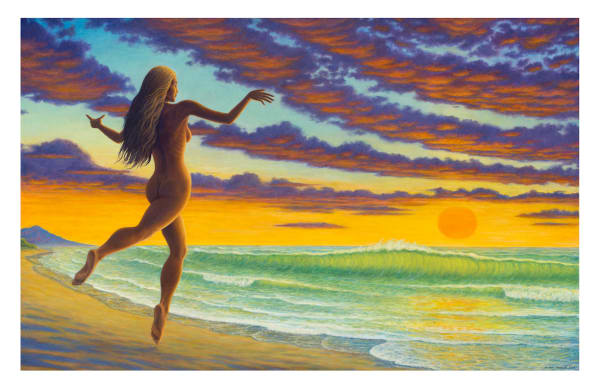 Sundancer 11x17 inch ecoprint