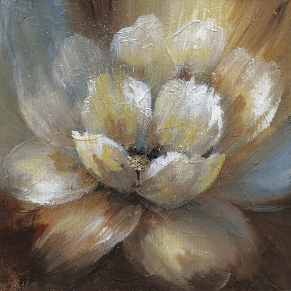 Blooming I by Artist Nan Wrapped Canvas Painting Art Print