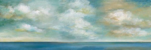 Cloudscape Vista II by Artist Nan Wrapped Canvas Painting Art Print