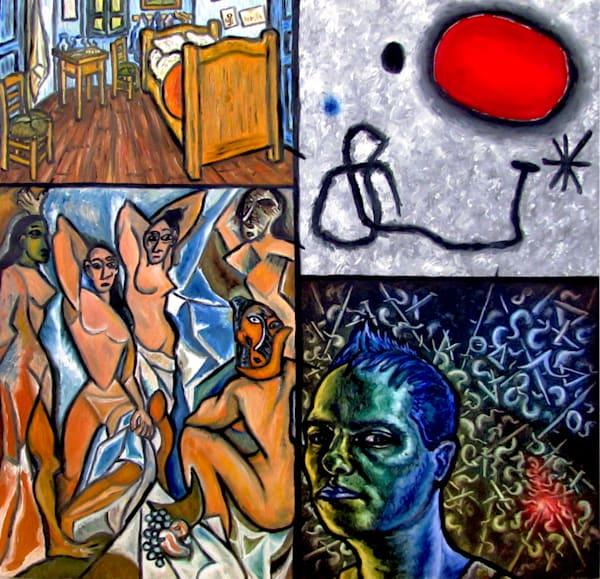 Van Gogh, Miro, Picasso and Presto