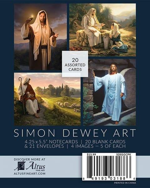 Simon Dewey Note Card Pack   Cornerstone Art
