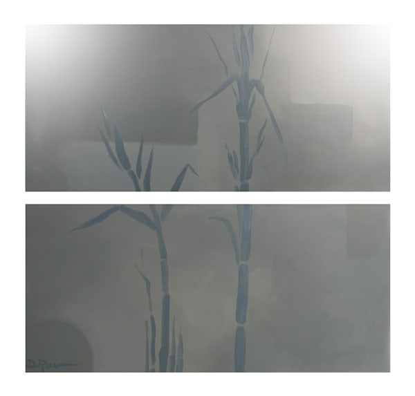 Morning Mist (diptych print)