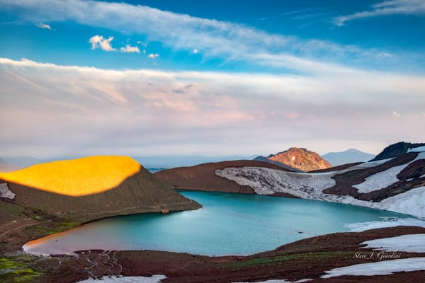 Broken Top Crater Lake II (1810172LNND8) Photograph for Sale as Fine Art Print