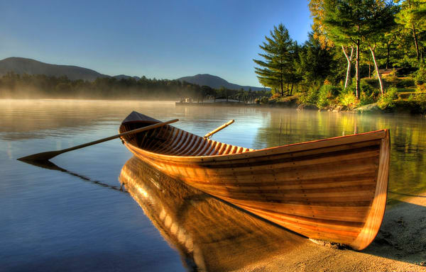 Adirondack Guideboat Photography Art | Michael Sandy Photography