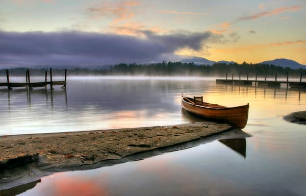 Morning Fog On Huddle Bay Photography Art | Michael Sandy Photography