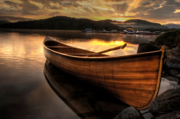 October Sunrise On Lake Placid Photography Art | Michael Sandy Photography