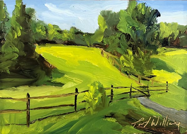 Williamstown Field painting | Fine Art for Sale