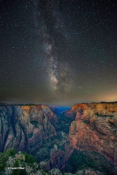 Zion Milkyway-Fine Art photograph-Zion National Park