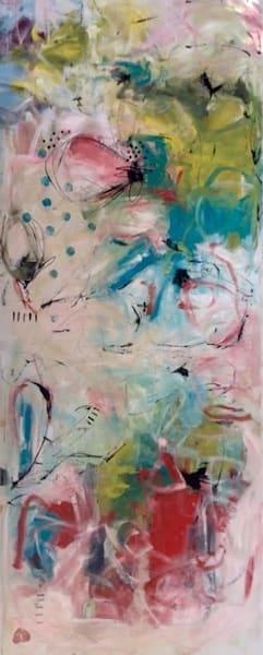 Ode à l'Ange qui Possède la Clef de mes Rêves by Annie Rodrigue | SavvyArt Market original painting