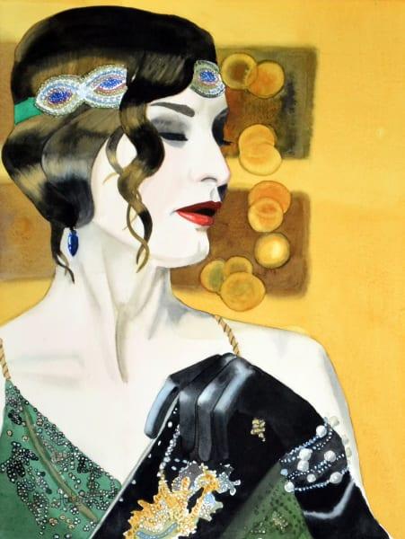 Portrait of a persian woman