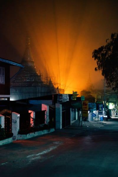 Neon Pagoda