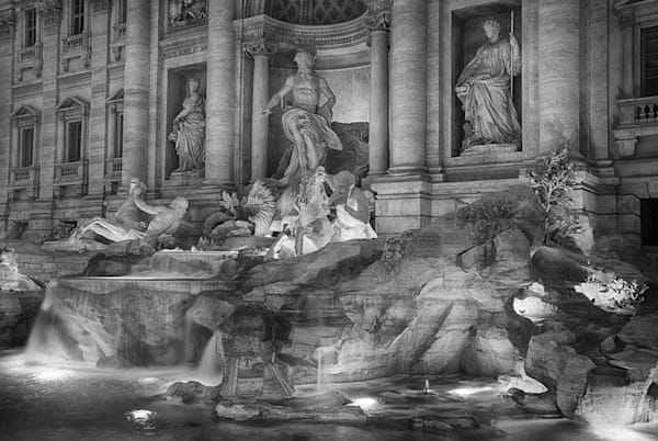 Evening at The Trevi