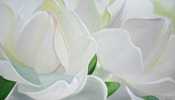 White Gardenias Art | R  O  B  E  N  A