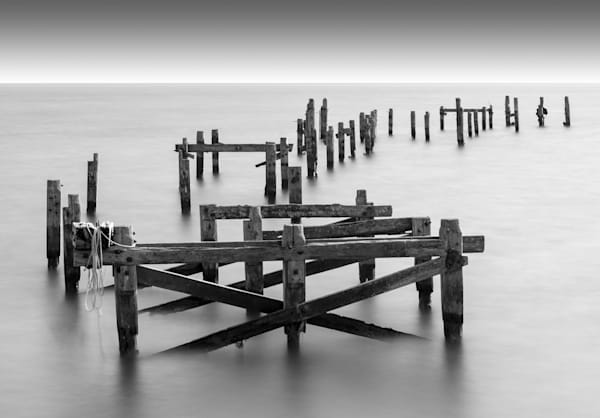 069 Old pier at Swanage