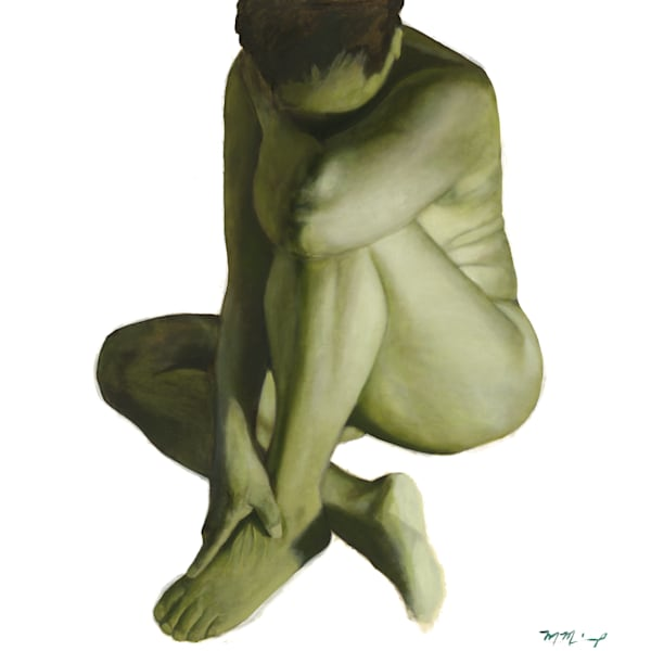 Green Nude Two Fine Art Prints for Sale | Marcus McKinley Fine Arts