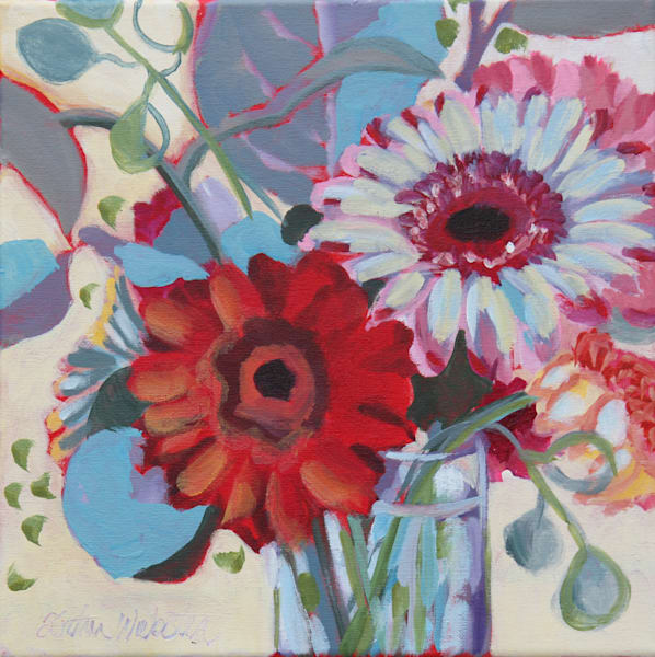 Gerber Daisys Art | Kristin Webster Art Studio