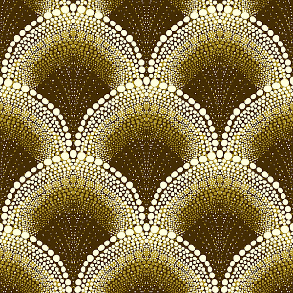 D. Dotted pattern in Art Deco Style- 1535330