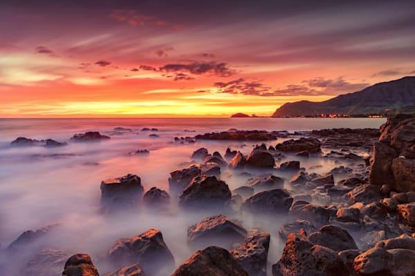 Hawaii Beach Photography | Dreamy Shore of Waianae by Peter Tang