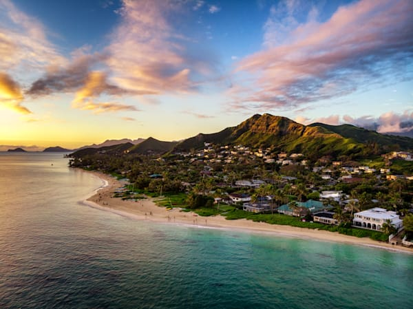 Hawaii Seascape Photography   Church of Lanikai by Peter Tang