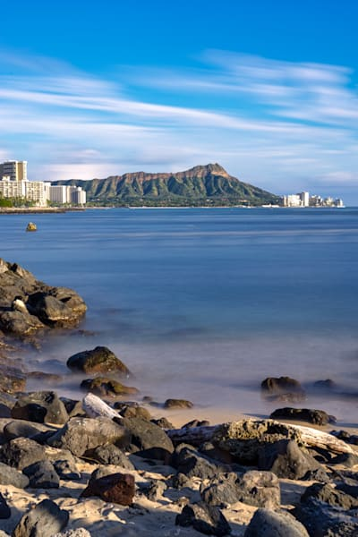 Hawaii Seascape Photography | Leahi Over Time by Peter Tang