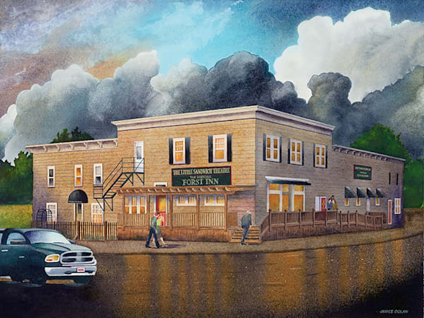 Forst Inn fine art print by Jim Dolan.