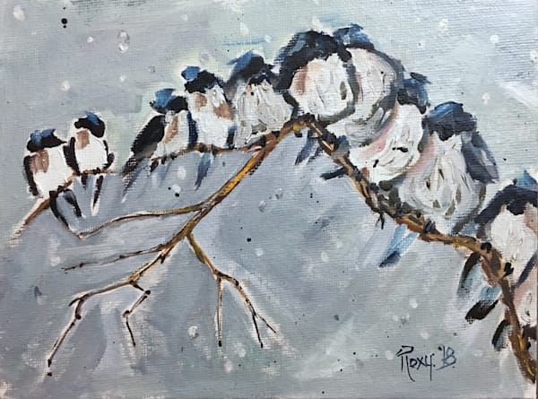 Birds in Oil Available