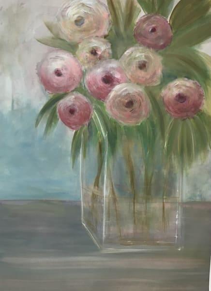 Vases:  Pink Petals