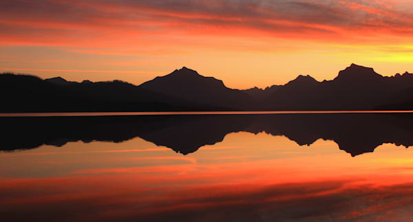Sunrise at Lake McDonald-Glacier National Park