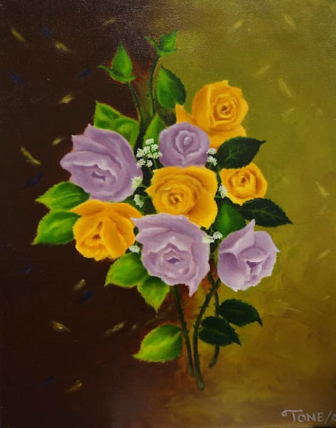 Original Floral Paintings