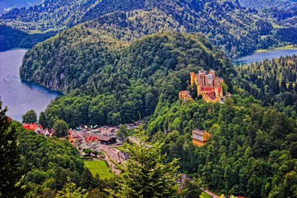 Hohenschwangau   Your Daddys Castle Photography Art | Peter J Schnabel Photography LLC