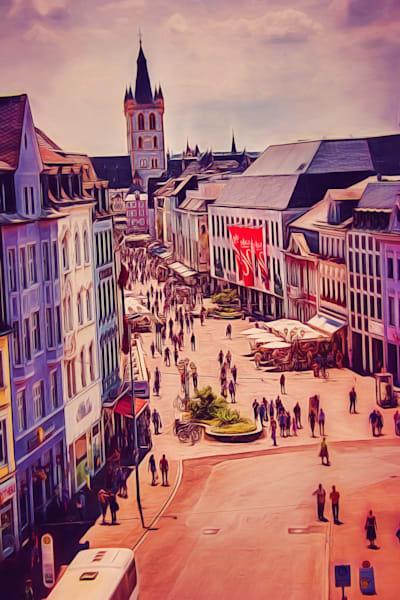 """Fussgaengerzone"" - Trier's City Life"