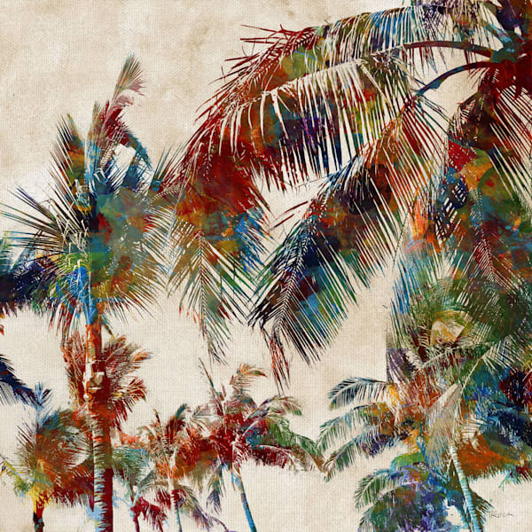 Tropical Punch II by artist Katrina Craven Canvas Art Print