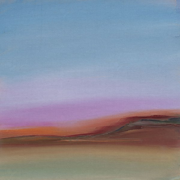 Violet Skies by artist Michelle Abrams Canvas Art Print
