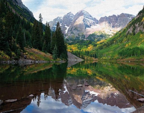 America the Beautiful by artist Robin Constable Hanson Canvas Art Print