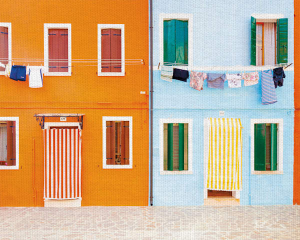 Burano I by Kyle Goldie Canvas Art Print