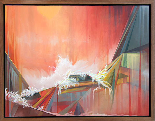 Nebulous Original Oil Painting by Spencer Reynolds