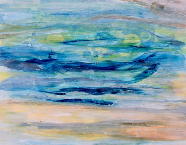 Ice Blue  Art | Art By Dana