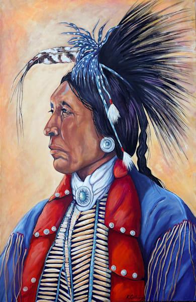 Two Hatchet Kiowa Chief