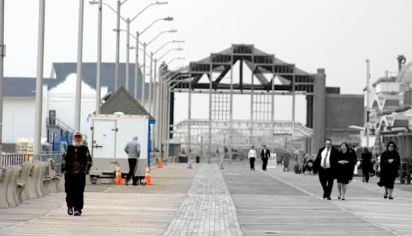 Men Walking in Asbury Park