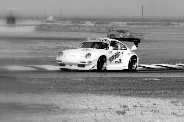 Buttonwillow Porsche racing