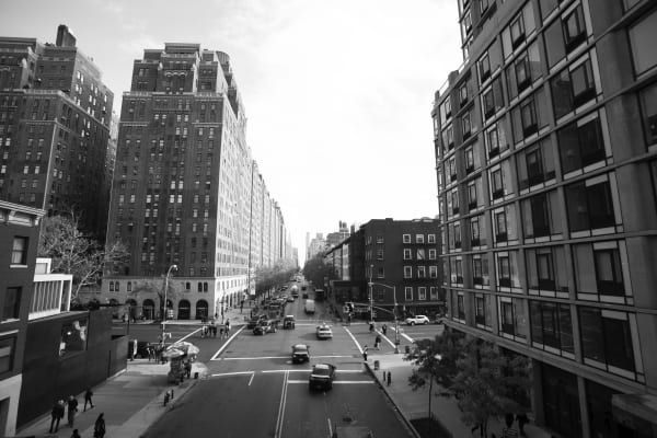 23rd Street from Highline, New York City