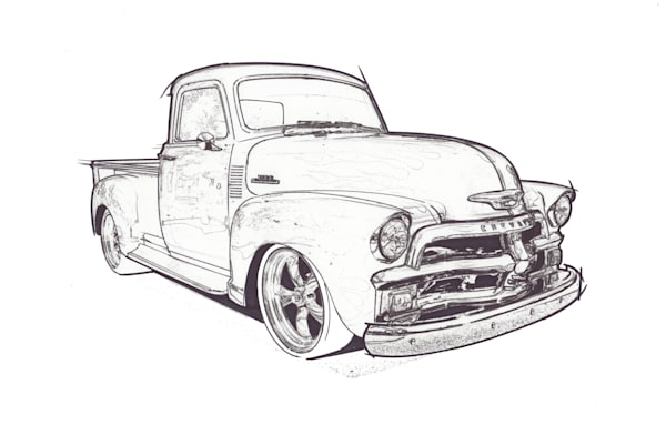 chevy truck A copy