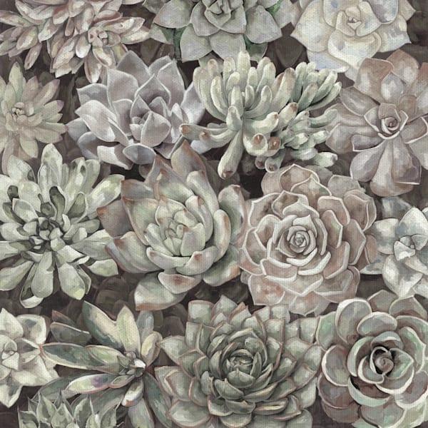 Desert Garden Soft by Artist Dixon Design Group Wrapped Canvas Painting Art Print