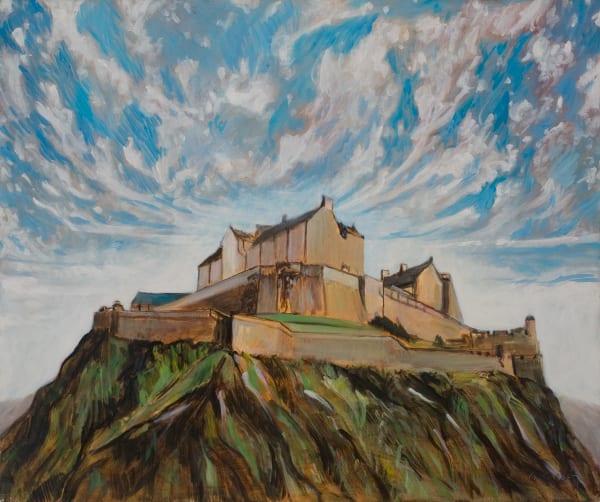 Edinbergh Castle Art | Sandy Garnett Studio