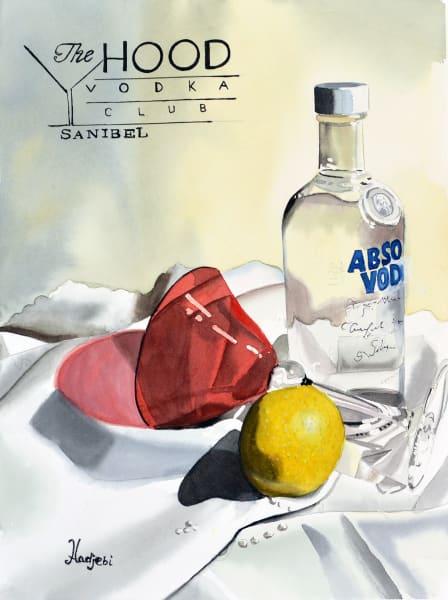 The Hood Vodka Club Poster - Sanibel Island