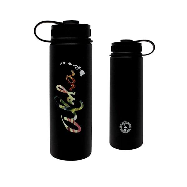 Aloha Floral Flasks