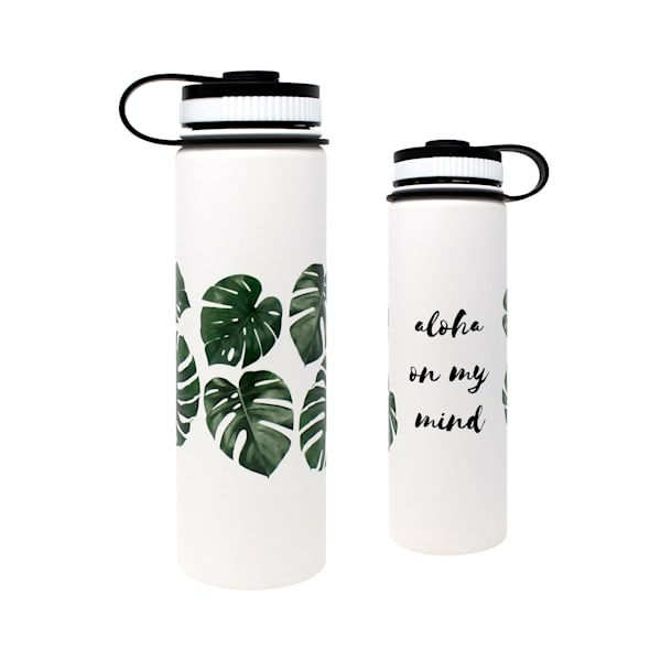 Aloha Monstera Flasks