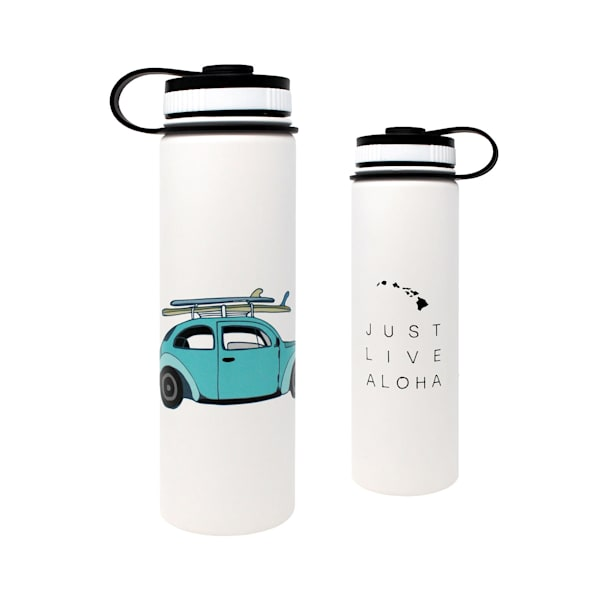 Just Live Aloha Bug Flasks