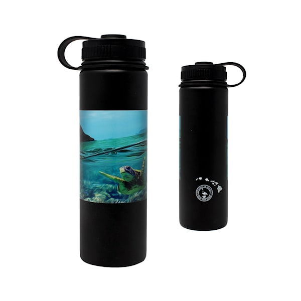 Honu Chinaman's Hat Flasks