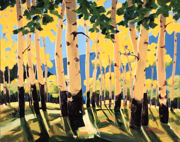Arizona Aspens | Southwest Art | Madaras
